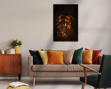 Ephemere Schönheit.Herbststillleben . von Saskia Dingemans