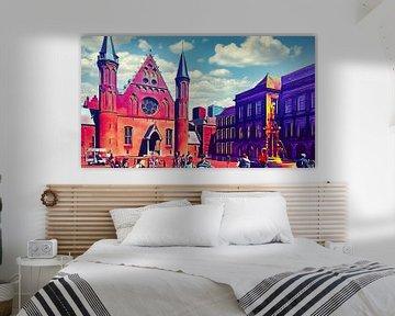Der Binnenhof Den Haag von Digital Art Nederland
