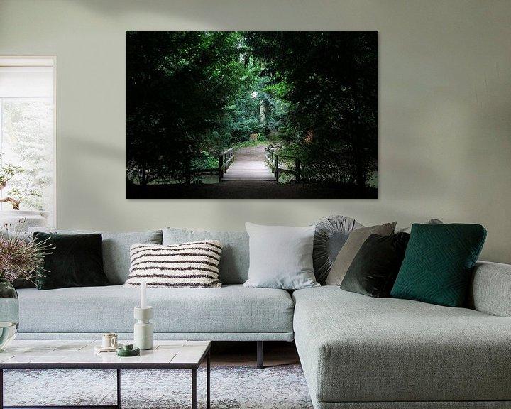 Beispiel: Mystische Brücke von Sander de Jong