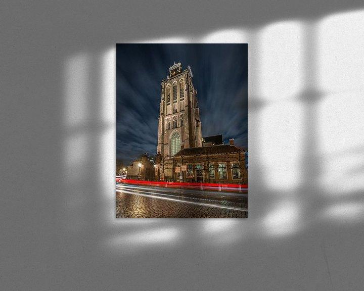 Sfeerimpressie: Grote of Onze-Lieve-Vrouwekerk (Dordrecht) 7 van Nuance Beeld