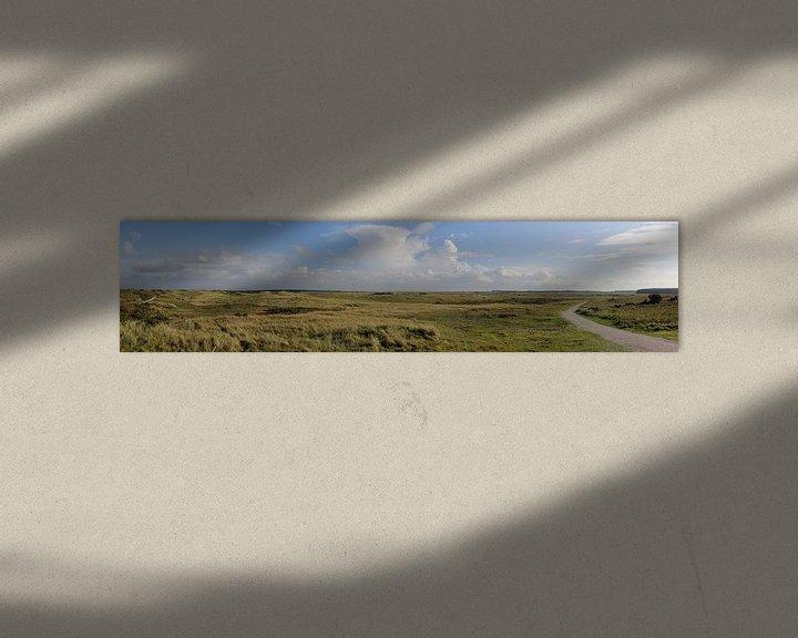 Beispiel: Panorama Ballumer Dünen von Sander de Jong