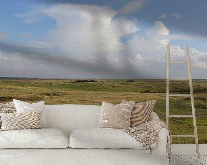 Beispiel fototapete: Panorama Ballumer Dünen von Sander de Jong