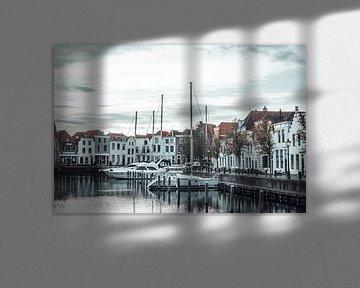 Stadthafen von Goes von Eugenlens