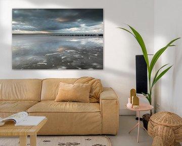 Vlissingen strand van Linda Raaphorst