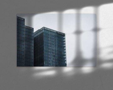Close-up van gebouwen van Michael Jansen