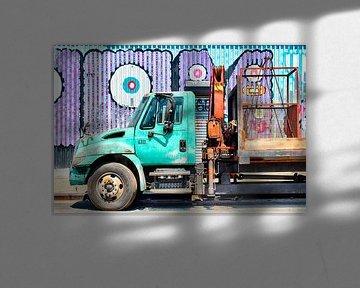 Street Art Abschleppwagen von Mark Scheffers