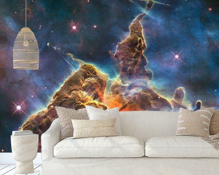 Sfeerimpressie behang: Hubble Spacetelescope photo van Brian Morgan