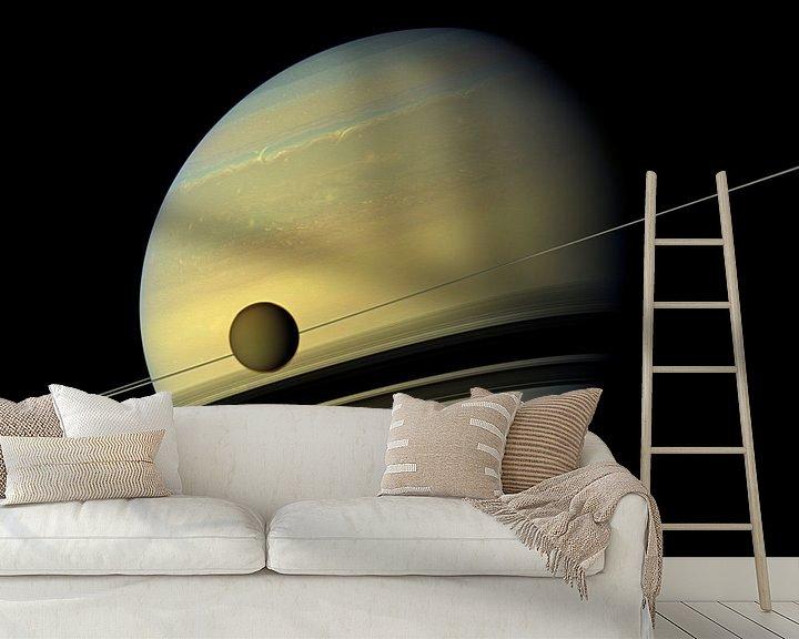 Sfeerimpressie behang: Hubble Photo van Brian Morgan