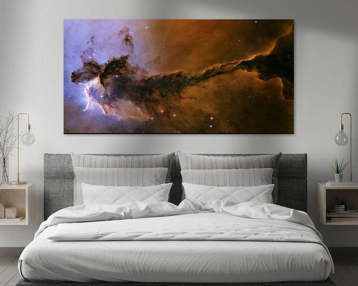 Sfeerimpressie: hubble Spacetelescope, van Brian Morgan