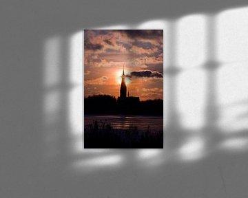Winter sunset von Thomas Fransen