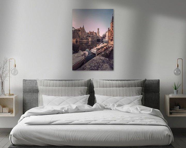 Beispiel: Der Rozenhoedkaai: Der berühmteste Platz von Brügge von Daan Duvillier