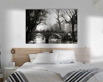 Oudegracht in Utrecht von Bob Bleeker