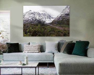 Mystrieuze bergen van Nieuw-Zeeland van Linda Schouw