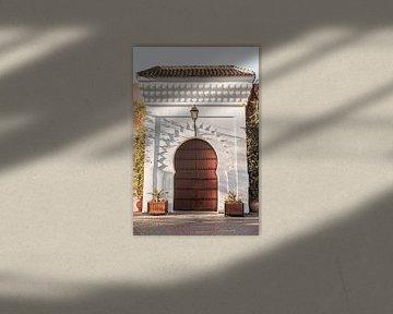 Hölzernes Tor in Marrakech von Henrike Schenk