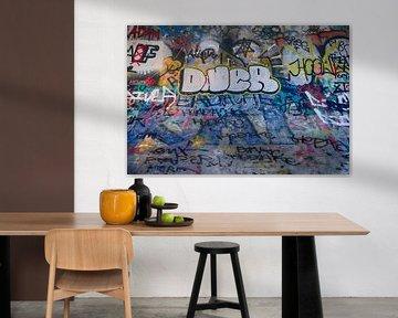Graffiti Paradise van Foto Amsterdam / Peter Bartelings