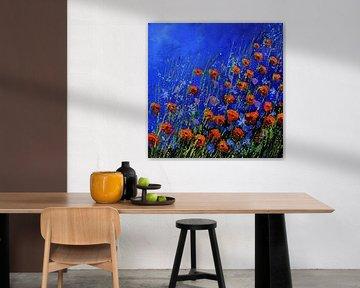 Rote Mohnblumen - 442021 von pol ledent