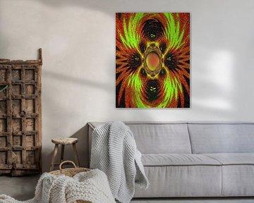 Aboriginal- Weaved von Annaluiza Dovinos