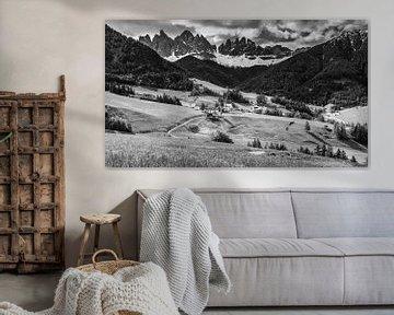 Santa Maddalena, Dolomiten, Italien von Henk Meijer Photography