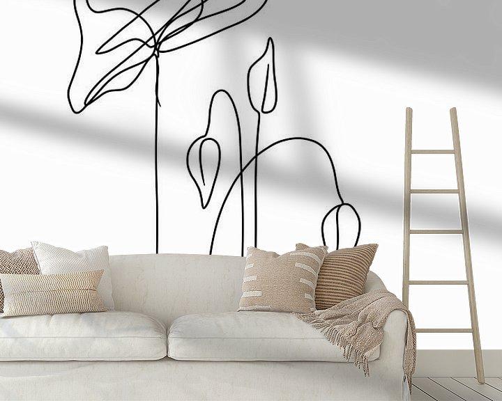 Beispiel fototapete: Mohnblumen von Ankie Kooi
