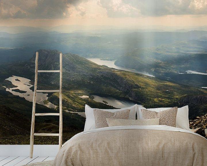 Beispiel fototapete: Gaustatoppen, Norwegen von Ilse Hofman