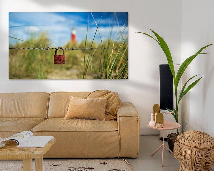 Sfeerimpressie: Liefde met een slotje op Texel van Sran Vld Fotografie