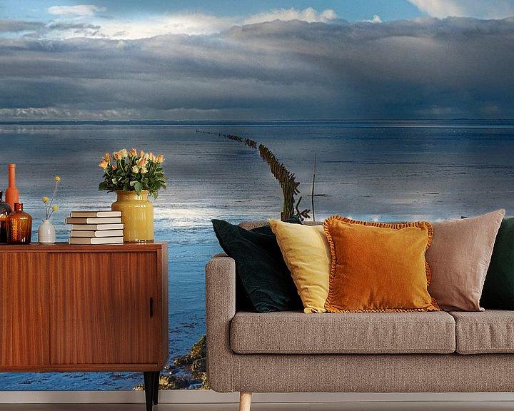 Beispiel fototapete: Linie zum Horizont von Martijn Tilroe