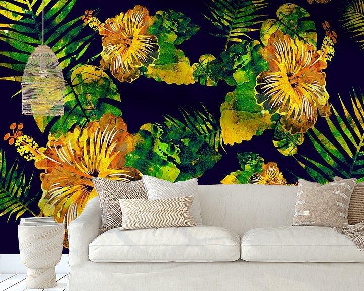 Sfeerimpressie behang: Hawaï nr. 2 van Andreas Wemmje