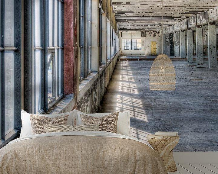 Beispiel fototapete: Gebäude Anton, Strijp-S Eindhoven von Bas Wolfs