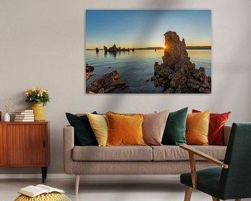 Mono Lake bij zonsopgang, Californië, USA, van Markus Lange