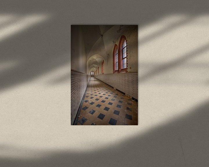 Beispiel: Urbex: Kloster von Carola Schellekens
