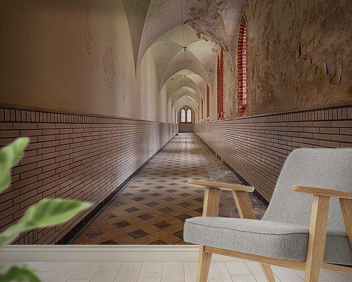 Beispiel fototapete: Urbex: Kloster von Carola Schellekens