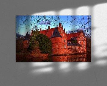 Herten Kasteel Panorama 4 van Edgar Schermaul