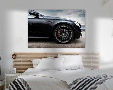 Mercedes E-63.S AMG V8 Velg van Maikel van Willegen Photography