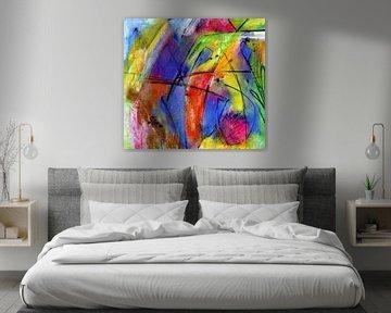 Formen und Farbe von Claudia Gründler