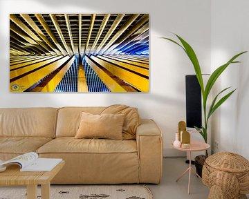 Linien in der Architektur von Frames by Frank