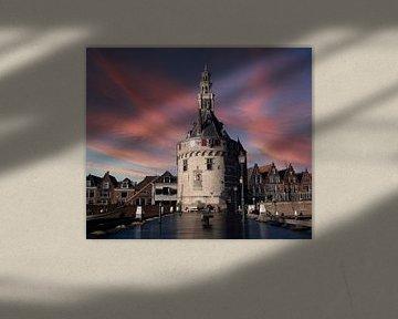 Hauptturm Hoorn Nord-Holland von Evelien van der Horst