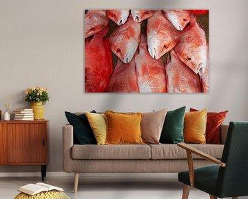 Red Snapper auf einem Fischmarkt von Tilo Grellmann | Photography