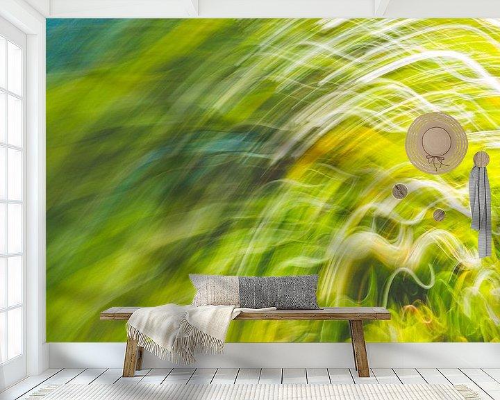 Beispiel fototapete: schwankendes Gras von Jan Peter Jansen