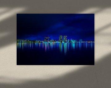 Skyline Almere von Frames by Frank