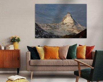 Matterhorn in het ochtendlicht van Martin Steiner