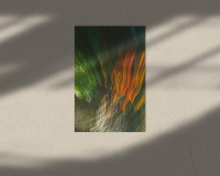 Beispiel: Feuer Gras von Jan Peter Jansen