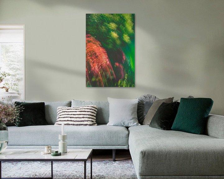 Beispiel: Grün Gelb Rot und etwas Violett von Jan Peter Jansen