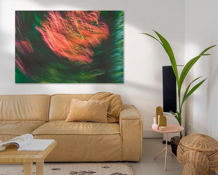 Beispiel: Feuerregen in t grün von Jan Peter Jansen
