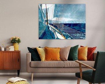 I am sailing - Part II von Andreas Wemmje