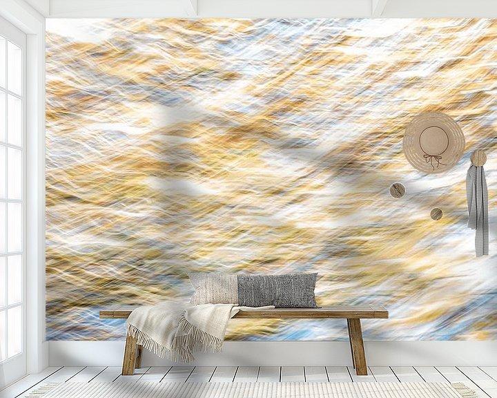 Beispiel fototapete: Gold und Blau von Jan Peter Jansen