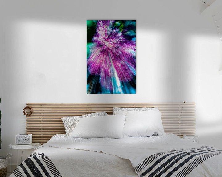 Beispiel: lila Blume von Jan Peter Jansen