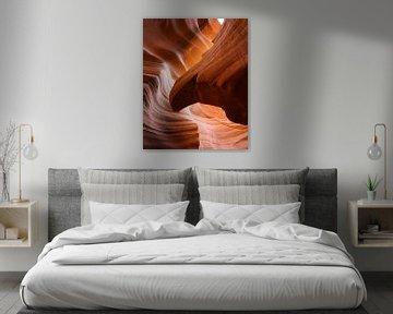 Antelope Canyon van Visual Approach