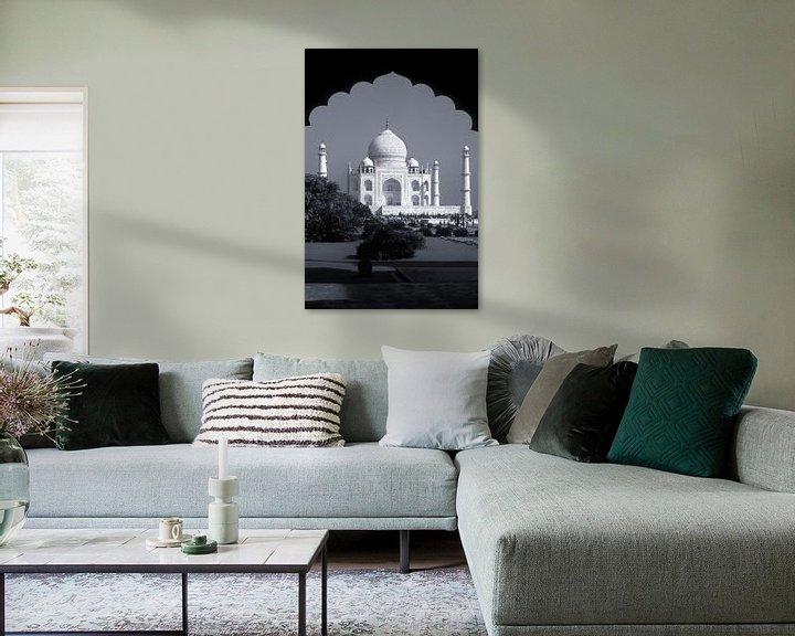 Sfeerimpressie: Taj Mahal, Agra, India van Henk Meijer Photography