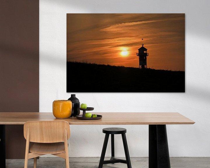 Beispiel: Sonnenuntergang am Elbdeich von Borg Enders