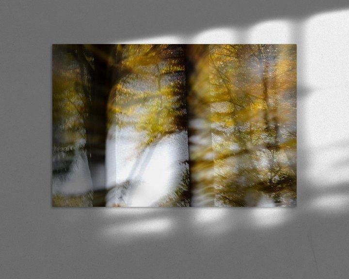 Beispiel: Herbstwald von Borg Enders